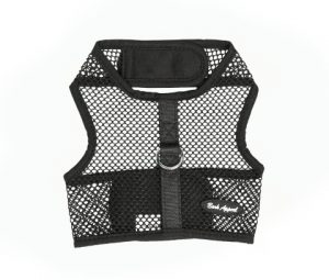 Black Netted Wrap N Go Harness-shop for cats-shop for dogs