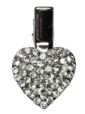 Grooming- Heart Clip Clear