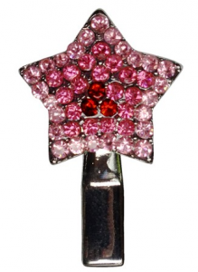 grooming- Star Clip Pink